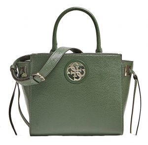 Guess Dámská kabelka Open Road Society Satchel Forest-For
