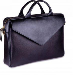 ROVICKY Kožená taška na notebook (FL15 POSITANO BLACK) Velikost: univerzální