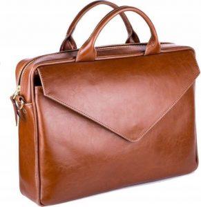 ROVICKY Kožená taška na notebook (FL15 POSITANO VIN. BROWN) Velikost: univerzální