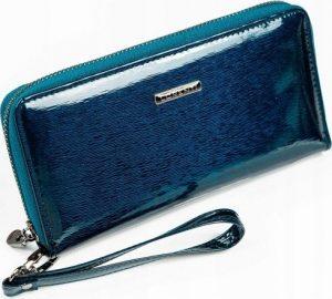 LORENTI Elegantní modrá peněženka 76119-SH BLUE Velikost: univerzální