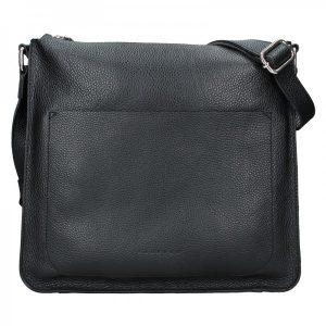 Dámská kožená kabelka Facebag Lima – černá