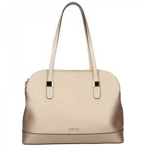 Dámská kožená kabelka Ripani Giulia – zlatá