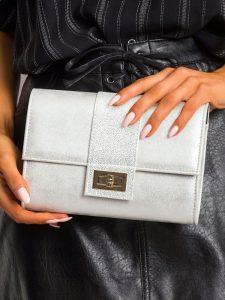 ROVICKY Elegantní stříbrné psaníčko (W66 EXTRA 1W/12W) Velikost: univerzální