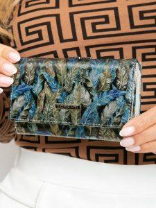 LORENTI kožená zelená peněženka RFID (55020-HYM GREEN) Velikost: univerzální