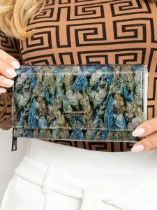 LORENTI kožená zelená peněženka RFID (76111-HYM GREEN) Velikost: univerzální