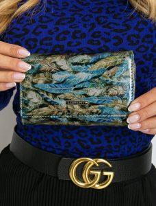 LORENTI kožená zelená peněženka RFID (76112-HYM GREEN) Velikost: univerzální