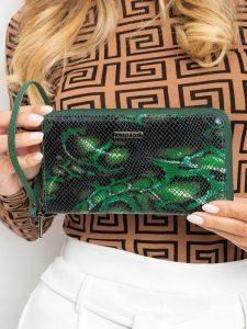 LORENTI kožená zelená peněženka RFID (76119-MSN GREEN) Velikost: univerzální