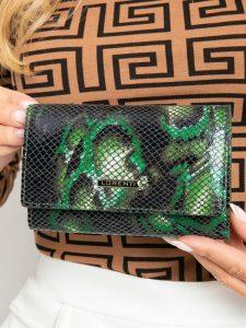 LORENTI kožená zelená peněženka RFID (55020-MSN GREEN) Velikost: univerzální