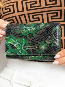 LORENTI kožená zelená peněženka RFID (76112-MSN GREEN) Velikost: univerzální