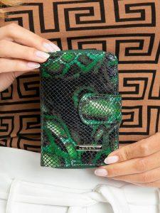 LORENTI kožená zelená peněženka RFID (76115-MSN GREEN) Velikost: univerzální