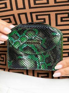 LORENTI kožená zelená peněženka RFID (55180-MSN GREEN) Velikost: univerzální