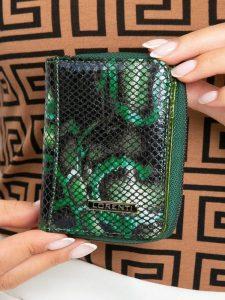 LORENTI kožená zelená peňaženka RFID (5157-MSN GREEN) Velikost: univerzální