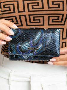 Lorenti kožená modrá peněženka (55020-MSN BLUE) Velikost: univerzální