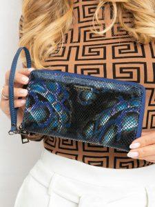 Lorenti kožená modrá peněženka (76119-MSN BLUE) Velikost: univerzální