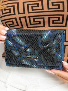 Lorenti kožená modrá peněženka (76112-MSN BLUE) Velikost: univerzální