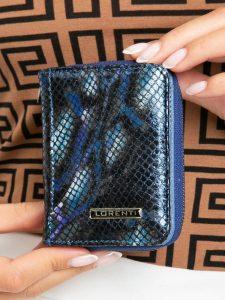 Lorenti kožená modrá peněženka (5157-MSN BLUE) Velikost: univerzální