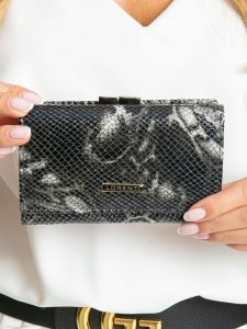 Lorenti kožená černá peněženka RFID (55020-MSN BLACK) Velikost: univerzální