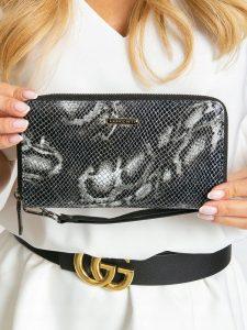Lorenti kožená černá peněženka RFID (76119-MSN BLACK) Velikost: univerzální