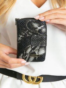Lorenti kožená černá peněženka RFID (76115-MSN BLACK) Velikost: univerzální