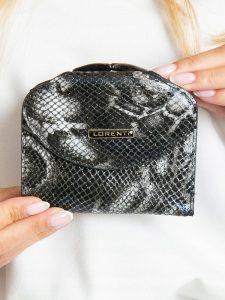 Lorenti kožená černá peněženka RFID (55180-MSN BLACK) Velikost: univerzální