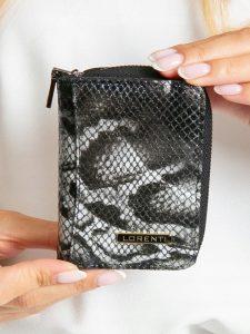 Lorenti kožená černá peněženka RFID (5157-MSN BLACK) Velikost: univerzální