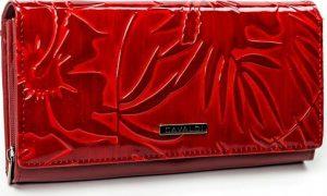 4U CAVALDI CAVALDI Červená dámská peněženka PN24-LF Velikost: univerzální