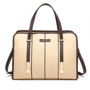 Béžová taška přes rameno Panel 55757