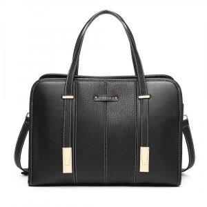 Černá taška přes rameno Panel 55760