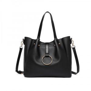 Černá kabelka 2-IN-1 Soft 55768