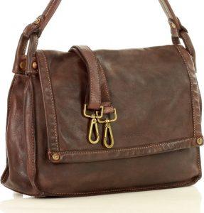 MAZZINI Vintage brown shopper kabelka MARCO MAZZINl (v36c) Velikost: univerzální