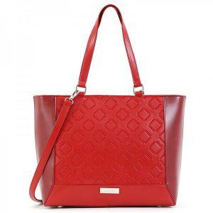 Dámská kabelka Doca 15443 – červená