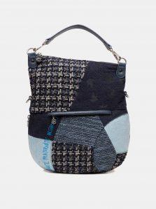 Tmavě modrá vzorovaná kabelka Desigual Liberté