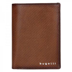 Pánská kožená peněženka Bugatti Jimmy – hnědá