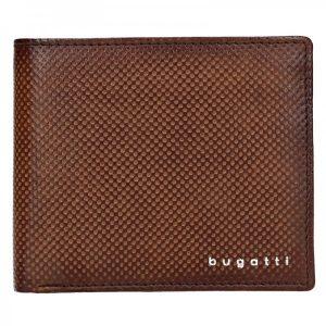 Pánská kožená peněženka Bugatti Unbert – hnědá