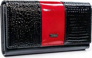 4U CAVALDI CAVALDI Dámská lesklá peněženka (PX26-1-J RED) Velikost: univerzální