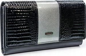 4U CAVALDI CAVALDI Dámská lesklá peněženka (PX26-1-J GRAY) Velikost: univerzální
