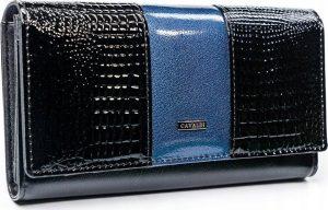 4U CAVALDI CAVALDI Dámská lesklá peněženka (PX26-1-J BLUE) Velikost: univerzální