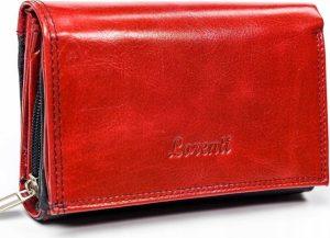 LORENTI Červenočerná peněženka (LT-04-BCF RED) Velikost: univerzální