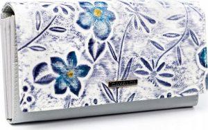 4U CAVALDI Dámská peněženka (PN27-FL W.PURPLE) Velikost: univerzální