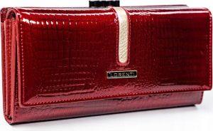 LORENTI Kožená dámská peněženka (697-C-RS RED) Velikost: univerzální
