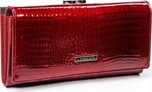 LORENTI Červená kožená peněženka (72031-RS RED) Velikost: univerzální