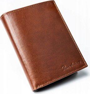 Pánská hnědá peněženka PIERRE ANDREUS RDIF D1072-VT-NL BROWN Velikost: univerzální