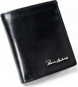 PIERRE ANDREUS černá kožená peněženka RFID PC-101-PA BLACK Velikost: univerzální