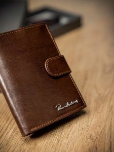 Pánská peněženka PIERRE ANDREUS (PA-N4L-VT BROWN) Velikost: univerzální