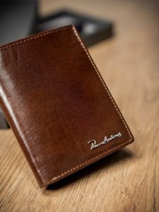 Pánská peněženka PIERRE ANDREUS (PA-N4-VT BROWN) Velikost: univerzální