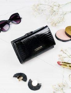 LORENTI Dámská peněženka (55020-RS BLACK) Velikost: univerzální
