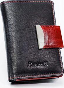 LORENTI Dvoubarevná peněženka (LT-08-BCF RED) Velikost: univerzální