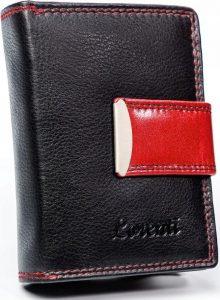 LORENTI Dvoubarevná peněženka (LT-02-BCF RED) Velikost: univerzální