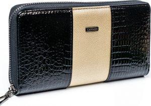 4U Cavaldi černo-zlatá peněženka (PX25-1-J GOLD) Velikost: univerzální