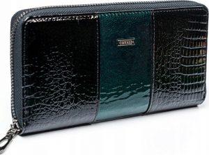 4U Cavaldi černo-zelená peněženka (PX25-1-DS GREEN) Velikost: univerzální